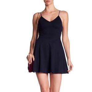 Alice + Olivia navy dress